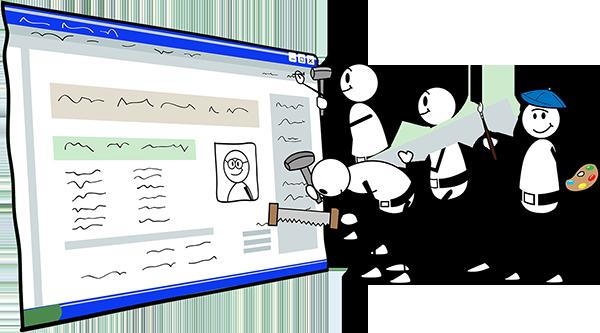 Этапы разработки сайтов с нуля